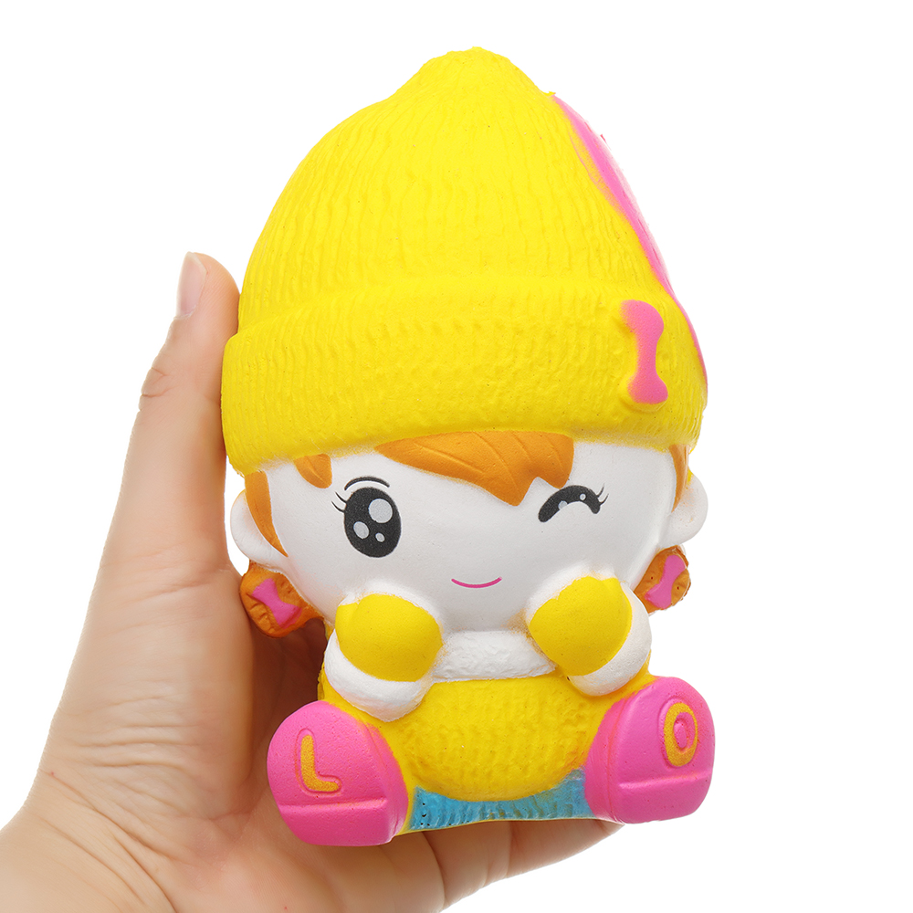 Snowman Girl Squishy Scented Squeeze Slow Rising Toy Soft Gift Collection Gift