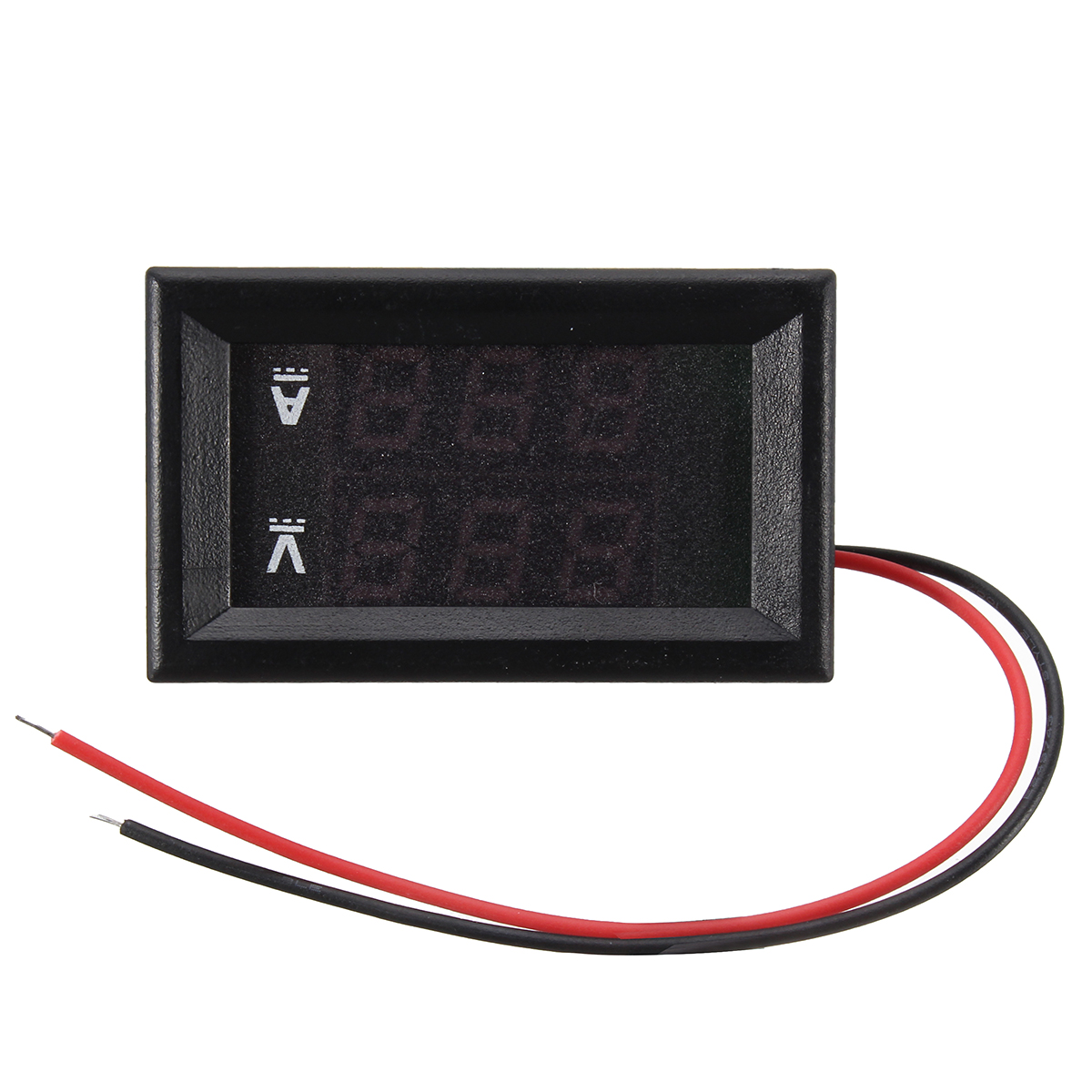 Dual Red Blue LED Digital Voltmeter Ammeter Panel Volt Gauge Meter