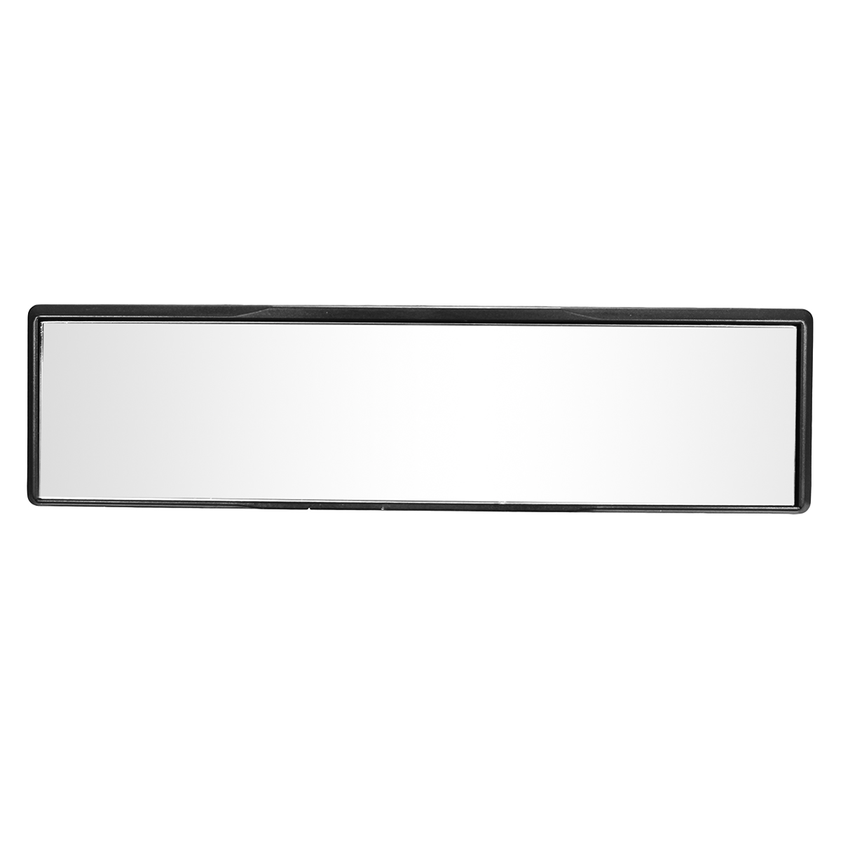 Universal Car 270mm Rear View Clear Glass Mirror Wide Convex Interior Clip-On