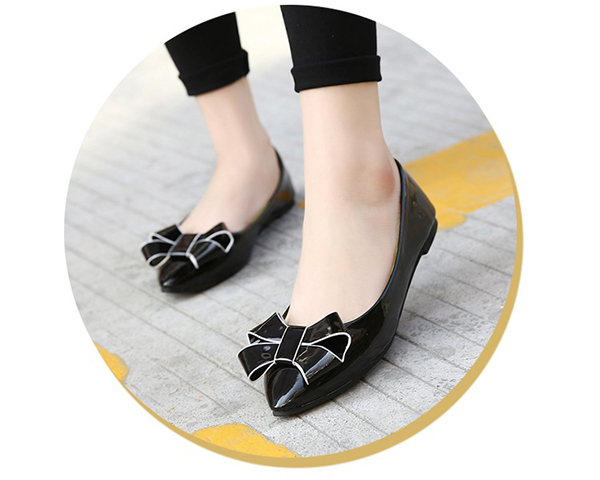 US Size 5-10 Women Fashion Comfortable Flats Pointed Toe Low Top Soft Slip On Flat Loafers Shoes
