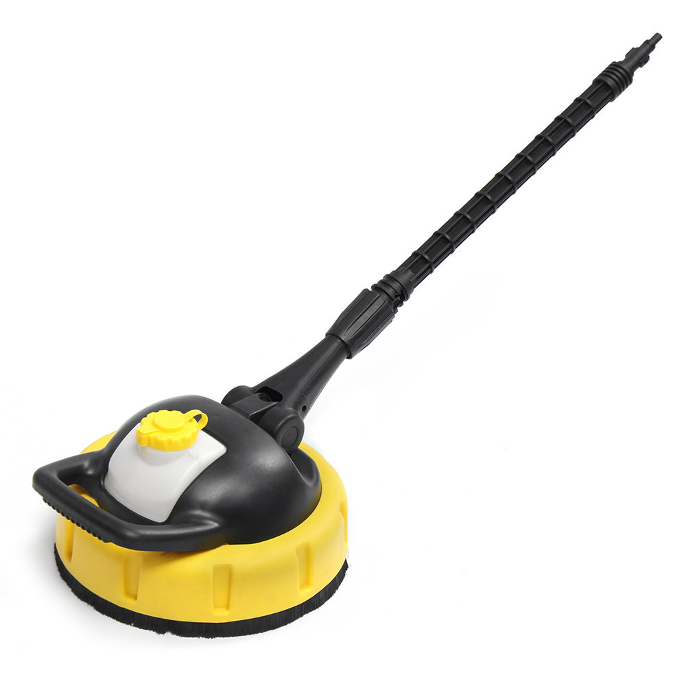 Pressure Washer Floor Patio Cleaner with Extension Rod Jet Brush for KARCHER K Series