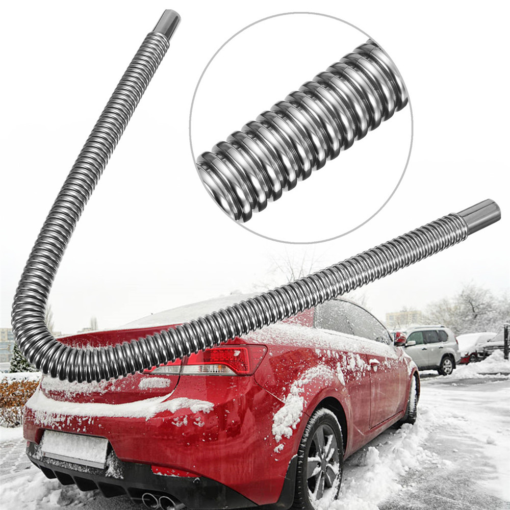 Stainless Steel Boat Yacht Car Parking Air Heater Tank Exhaust Pipe Diesel Gas Vent Hose