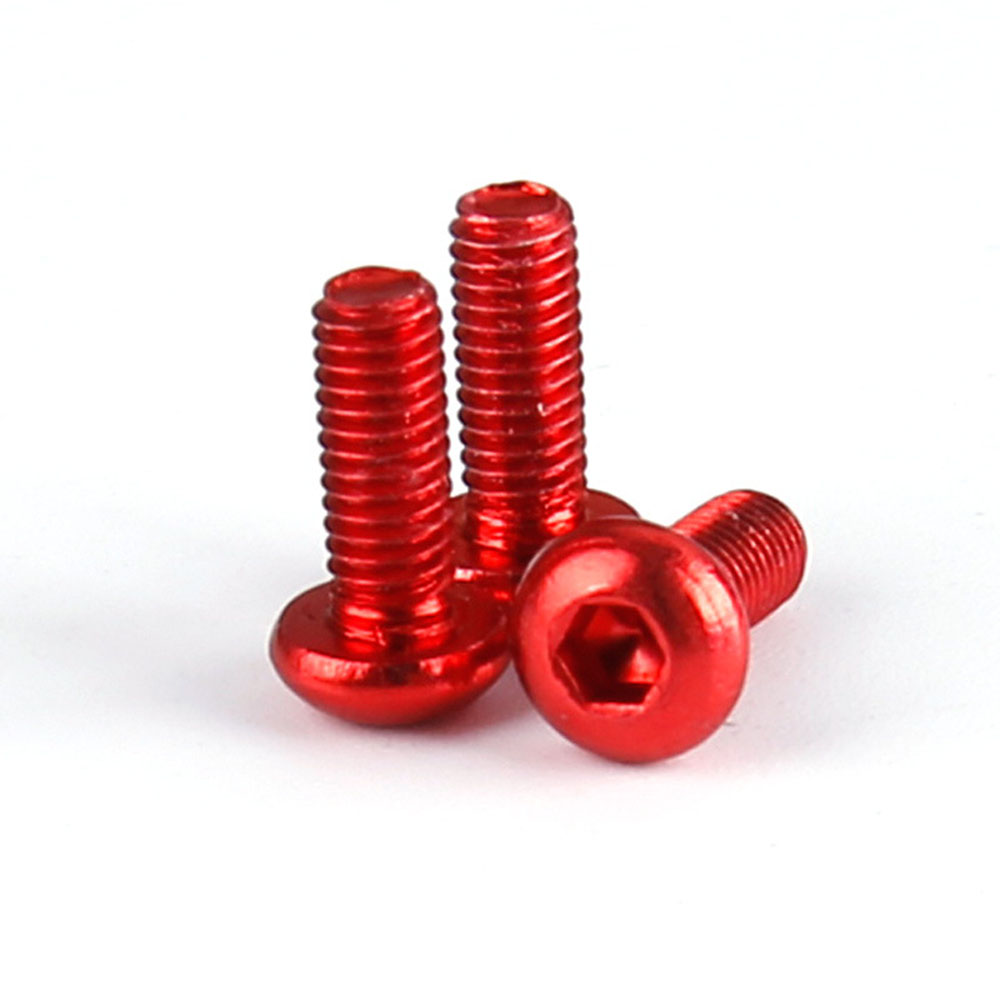 8PCS iFlight 7075 Aluminous Hex M3*6 M3*8 Screw For RC Models - Photo: 2