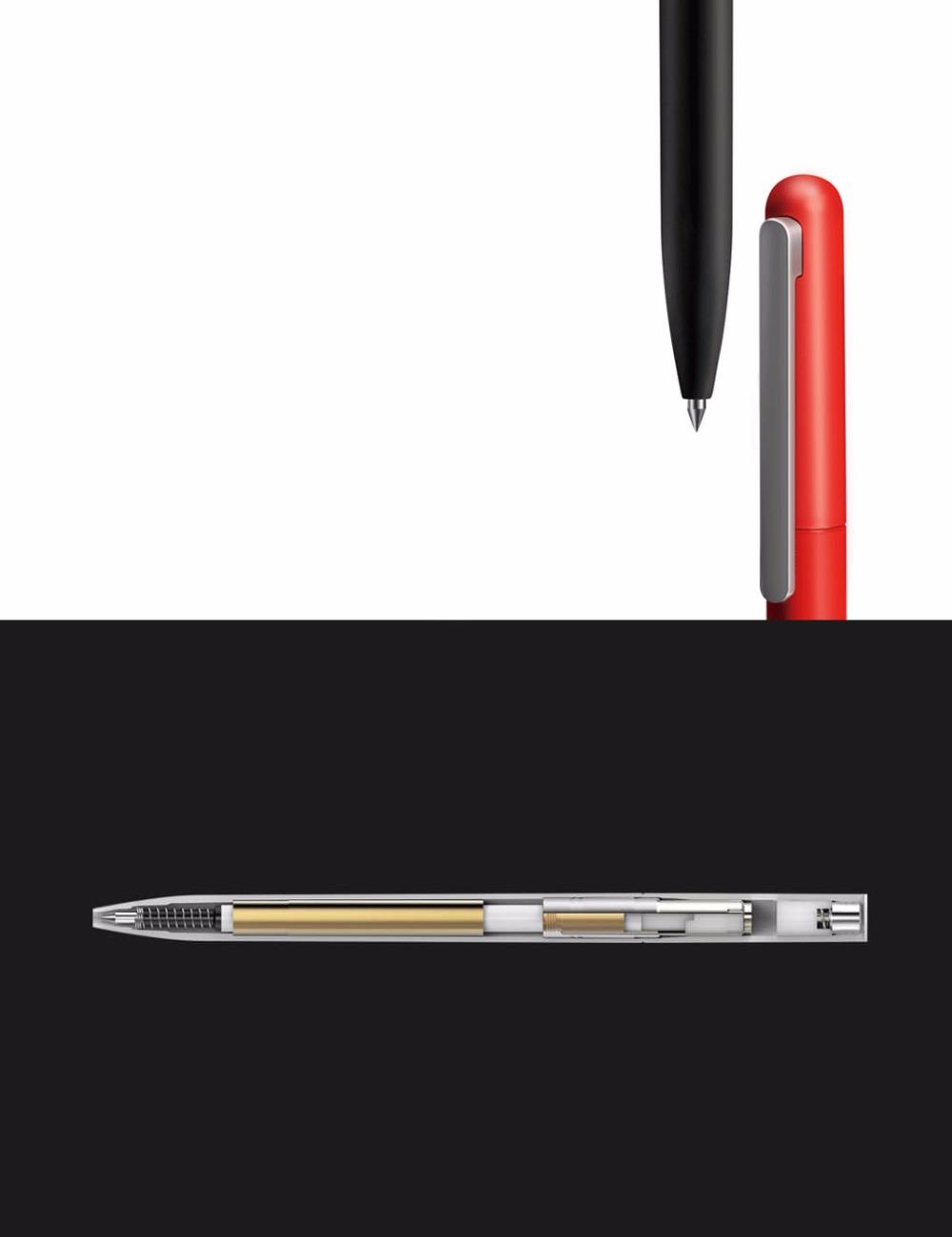 3Pcs Original Xiaomi Mijia Pinluo 0.5mm Gel Pen Signing Pen Smooth Refill For Office School Supplies