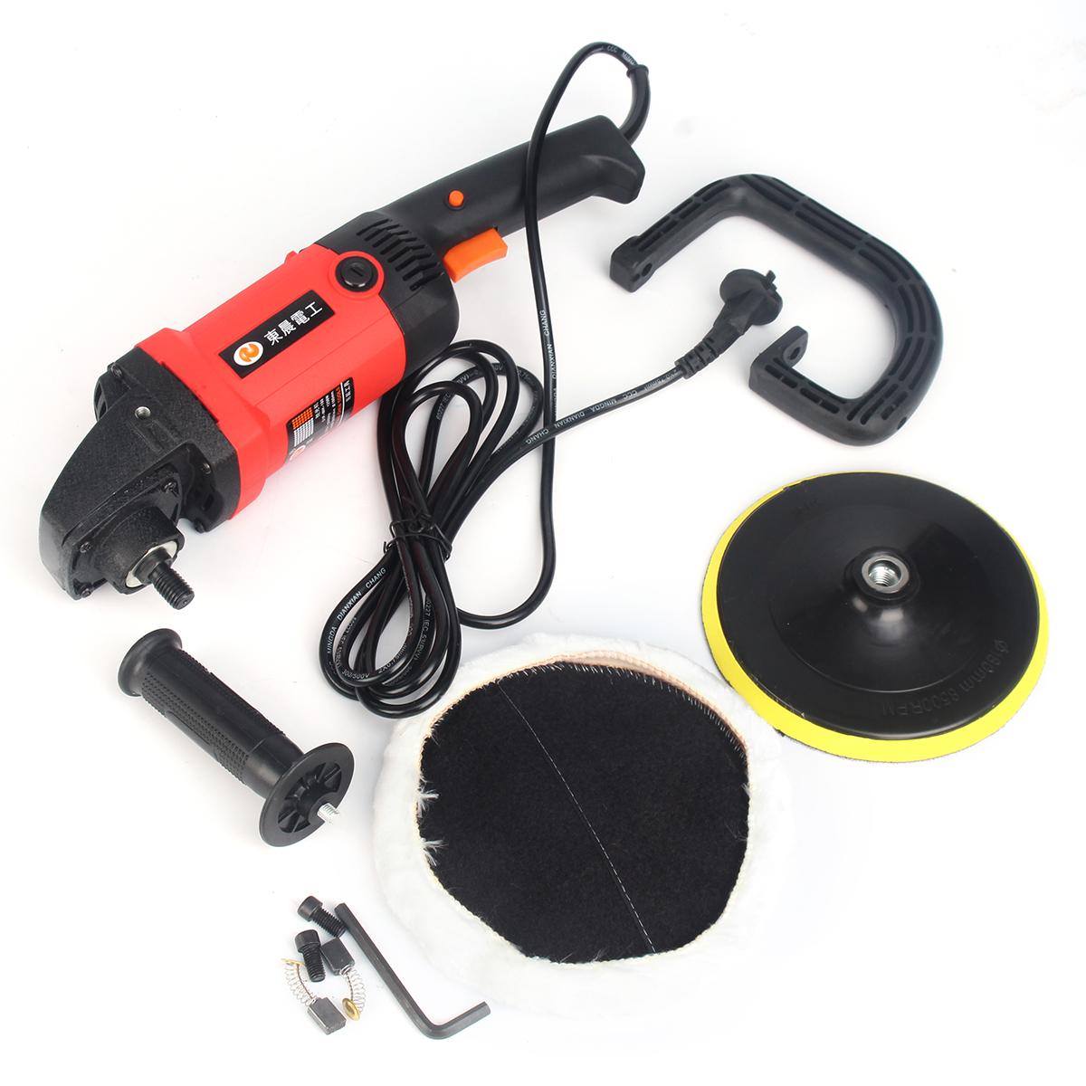 220V 1200W Electric Polisher Buffer Waxing Machine Electric Detailing Tool