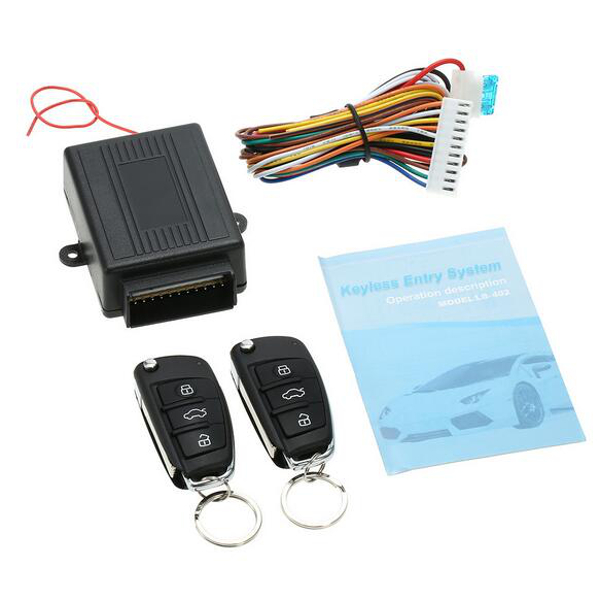 Lanbo LB-402/L321 Car Keyless Entry System Central Locking Alarm Matching Anti-theft Horn
