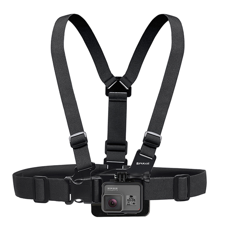 PULUZ Adjustable Chest Belt Body Strap Mount for Action Sport Camera
