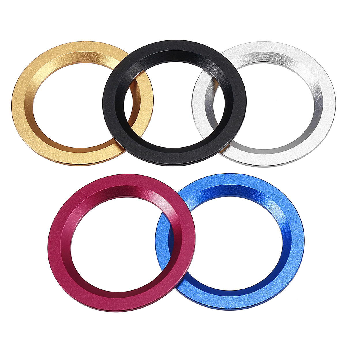 1Pcs Engine Start Button Cover Cap Decor Ring Trim Aluminum Alloy for TOYOTA/Ford/Cadillac