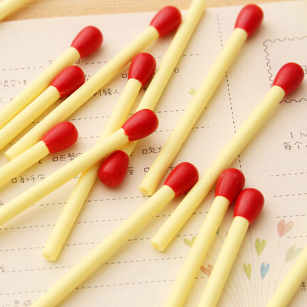 1pcs Match Shape Cute Mini Stick Ballpoint Pen Korean Creative Children Stationery Supplies