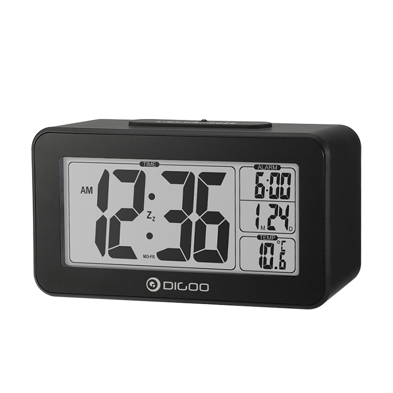 Digoo DG-C1 Multifunctional Electronical Digital Alarm Clock Temperature Thermometer Backlit LCD