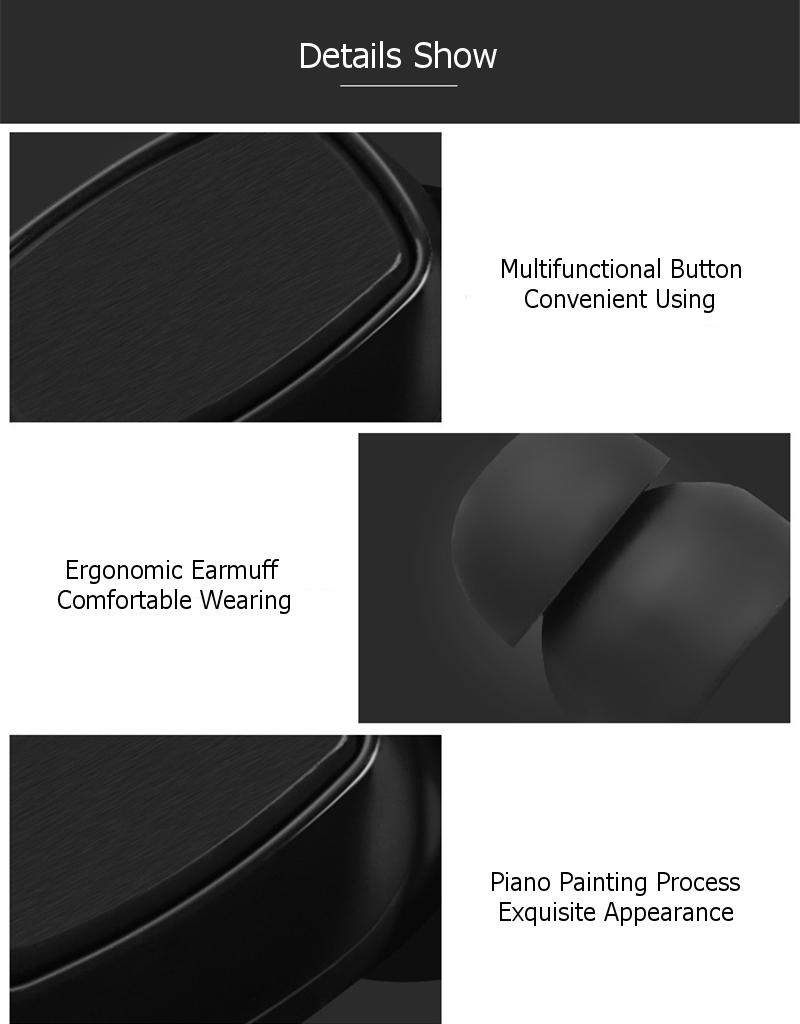 [Truly Wireless] M8 HiFi bluetooth Earphone Headphone With 2000mAh Charger Box DSP Noise Cancelling