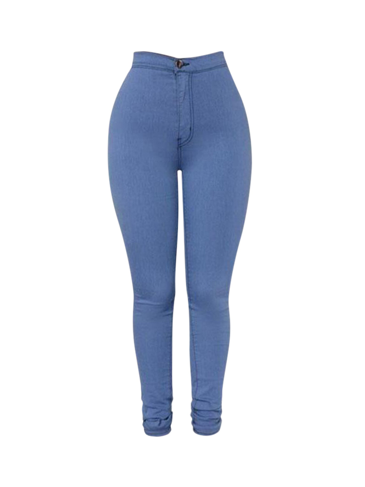 Casual Stretch Skinny High Waist Women Pencil Pant Jeans Leggings