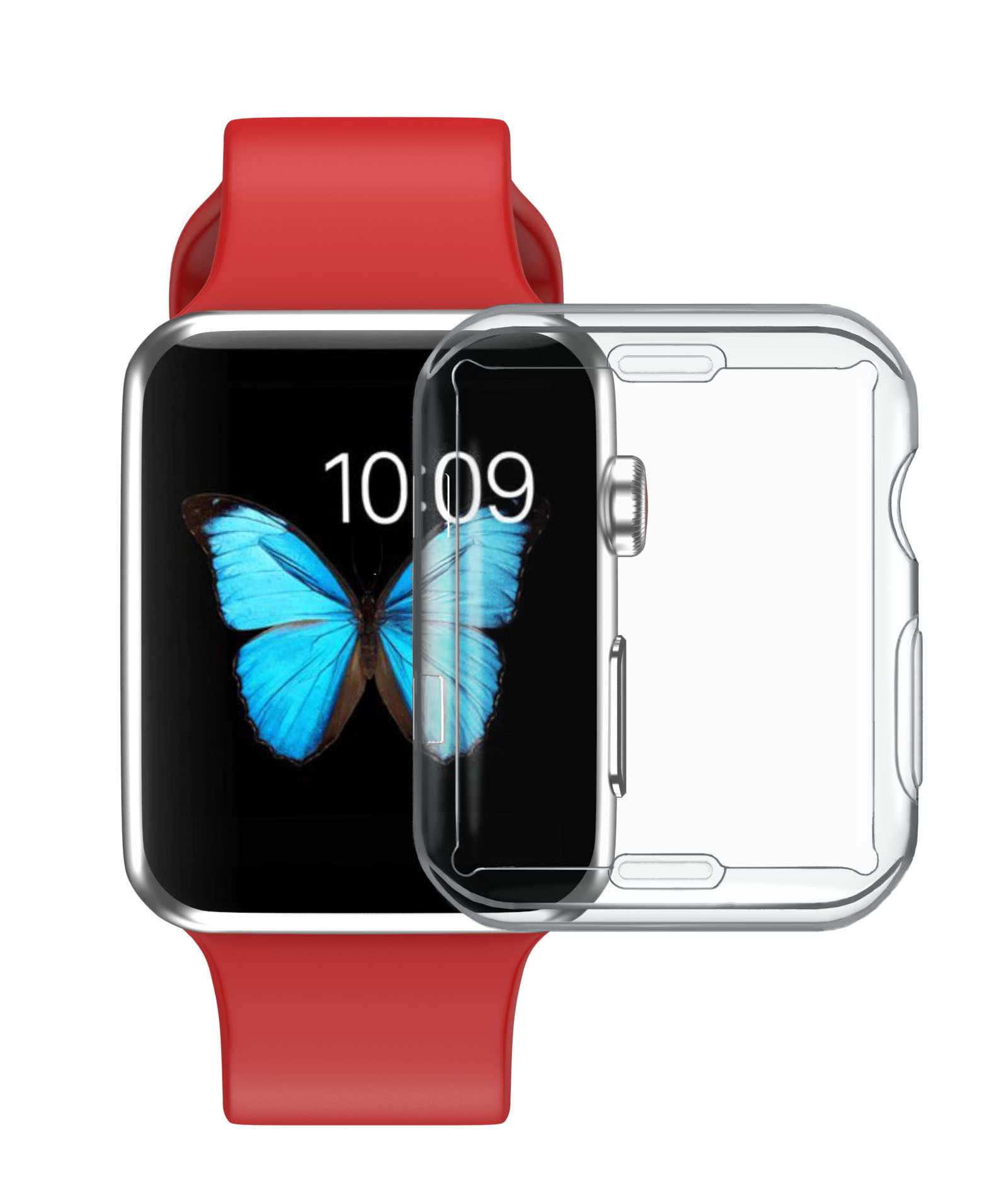 Bakeey Clear TPU Watch Protective Case For Apple Watch