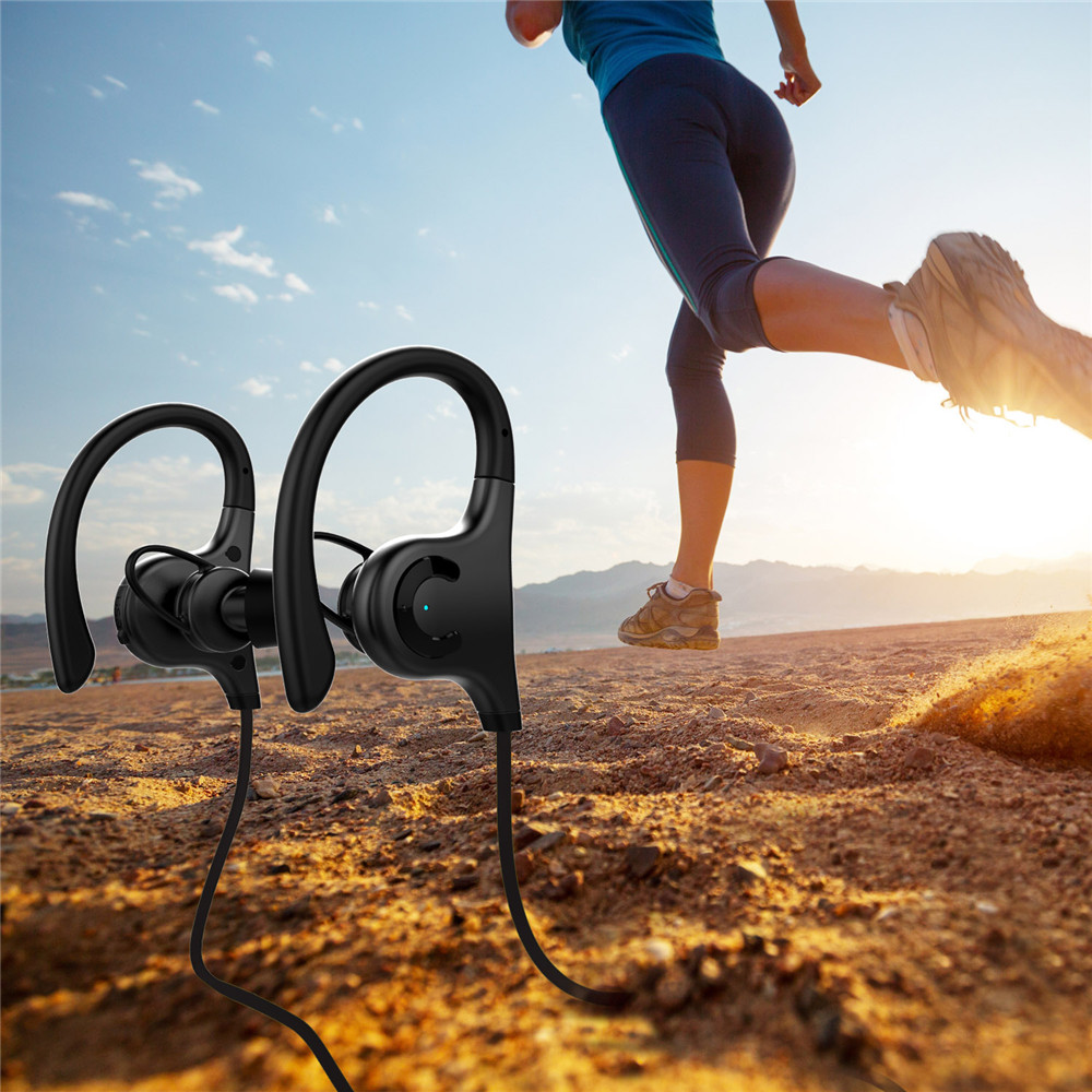 ESON Style S2 Wireless bluetooth Earphone IPX4 Waterproof Outdoors Noise Cancelling Stereo Headphone
