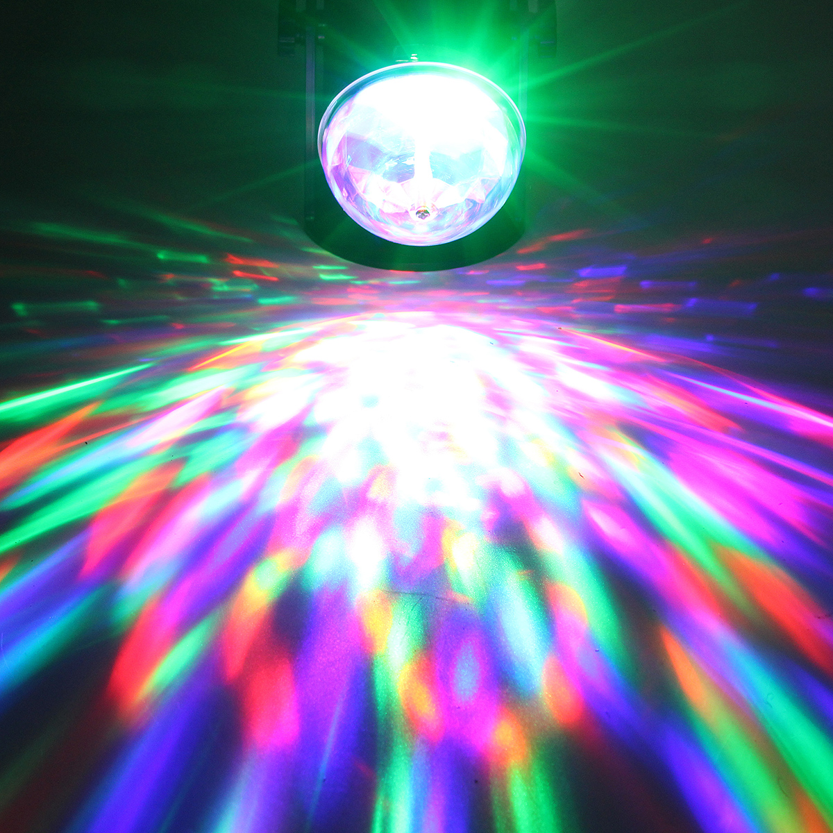 Rotation Mini 240°Laser Projector Laser Stage Light LED RGB Party DJ Xmas Lamp