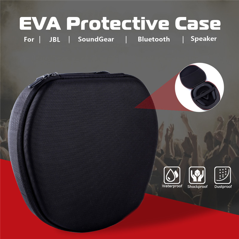 Mini Portable EVA Protective Storage Bag Zipper Box For JBL Wireless bluetooth Speaker