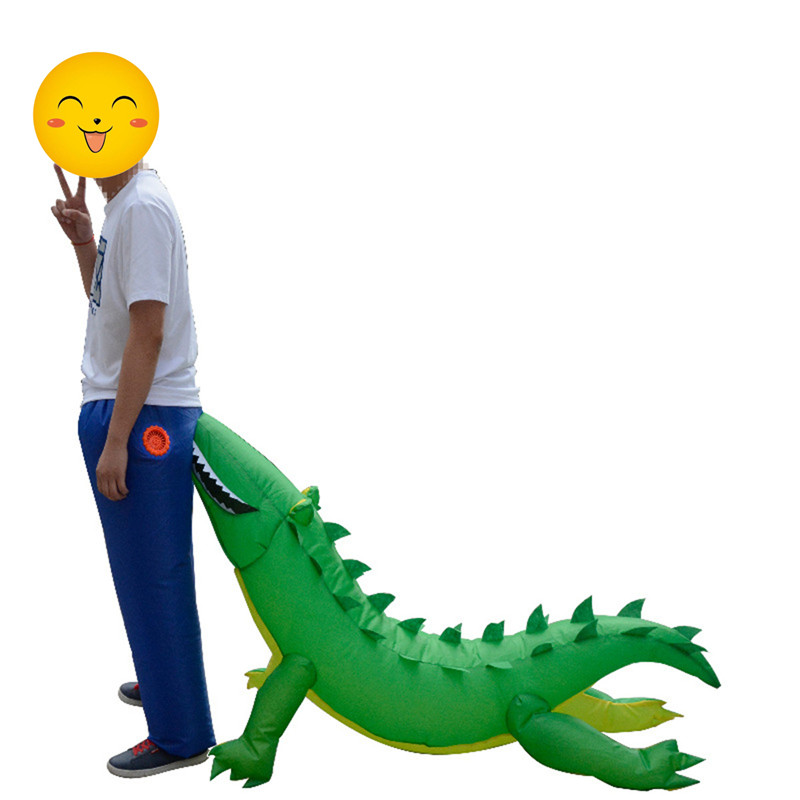Christmas Party Home Inflatable Crocodile Bite Ass Air