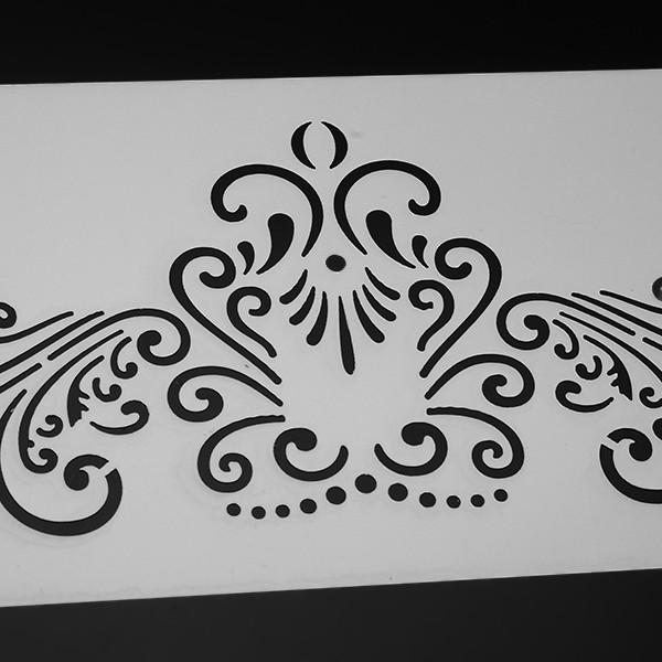 3Pcs Lace Plastic Cake Stencil Cookie Biscuit Fondant Stencil Wedding Cake Decorating Tool