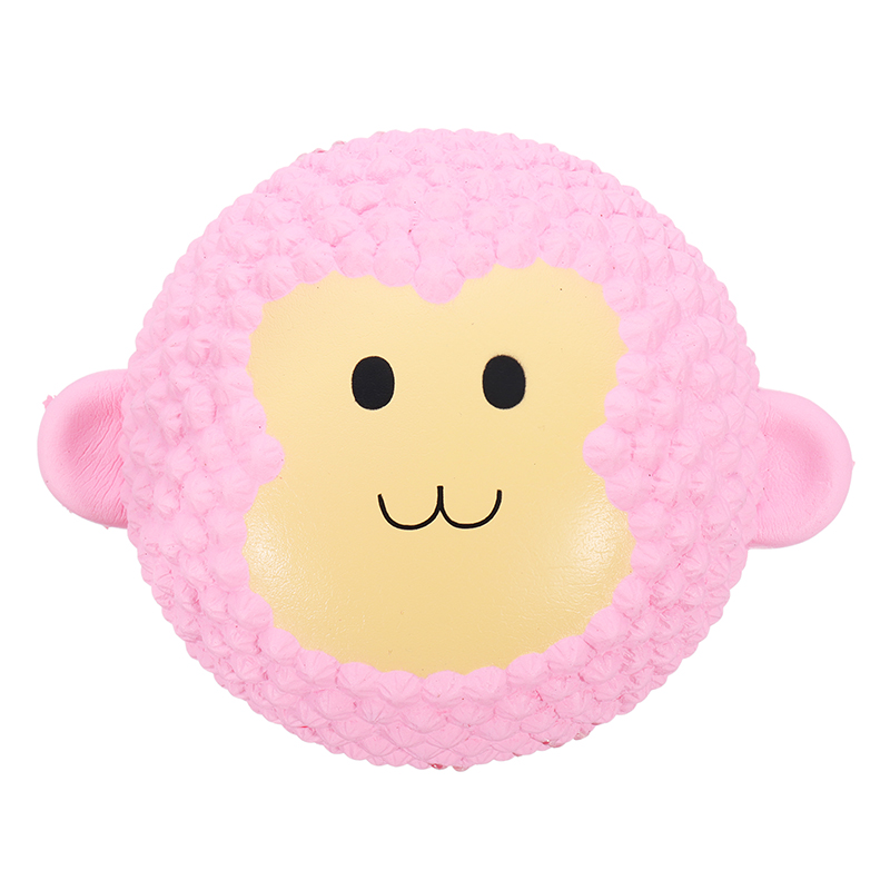 Squishy Pink Monkey Cake 13cm Gift Soft Slow Rising With Packaging Collection Gift Decor Toy
