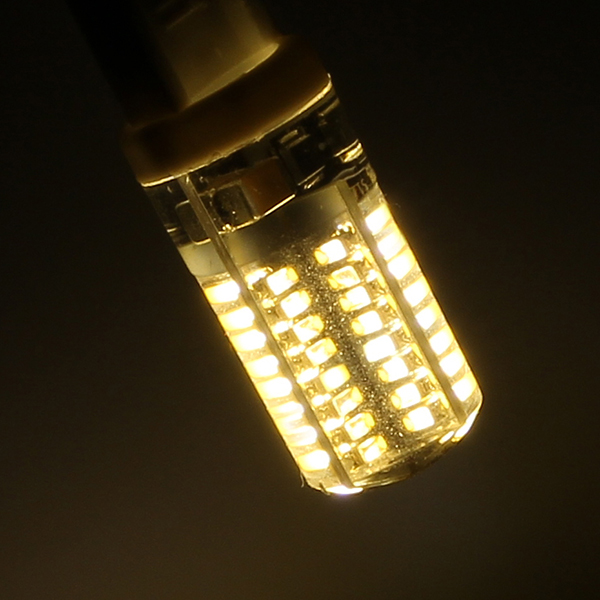 1X 5X ZX G9 3W 5W 3014 SMD 64 104 LED Corn Crystal Capsule Bulb 220V LED Lighting Lamp