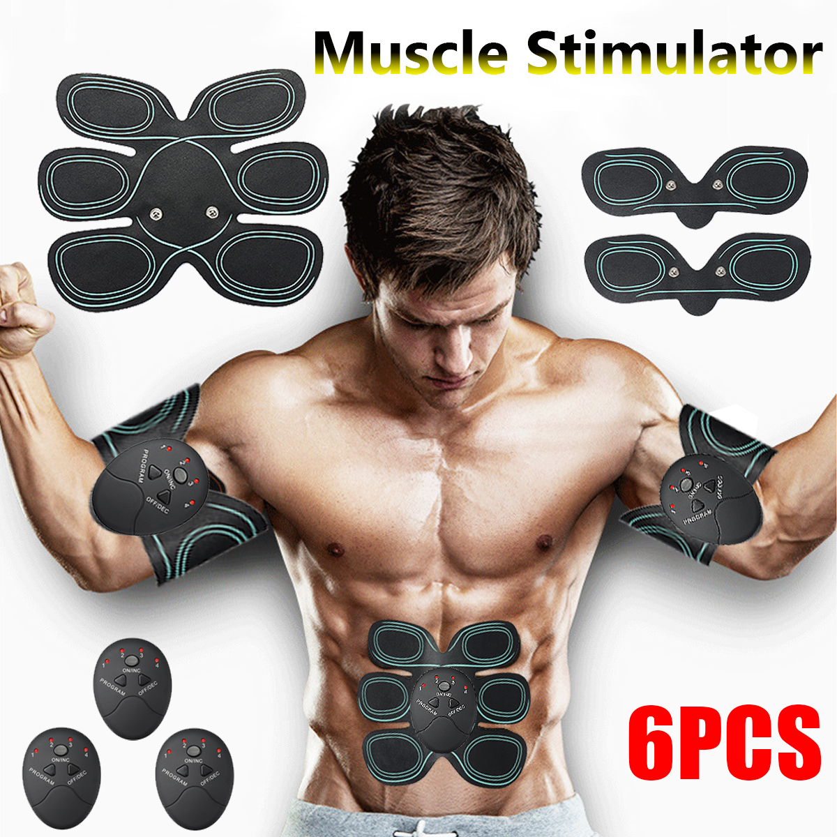 Electric Muscle Stimulator Body Slimming Beauty Machine