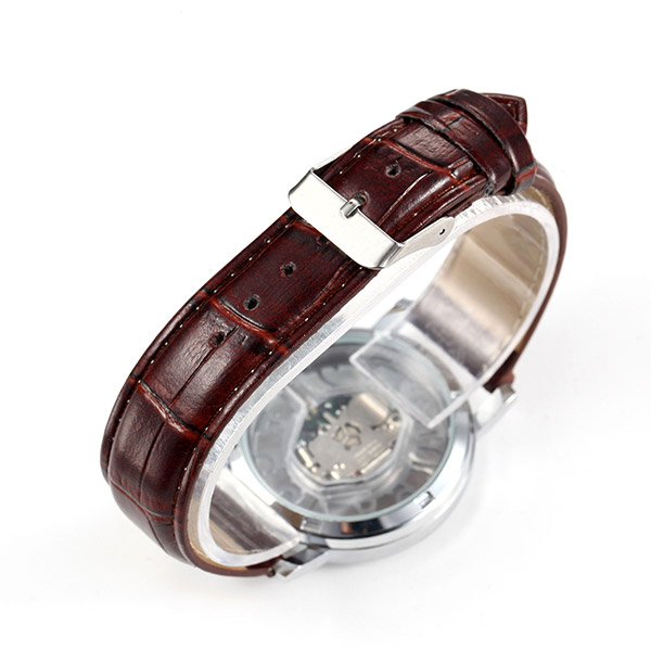 Men Women Fashion Double-side Hollow Out Analog Quartz Watch
