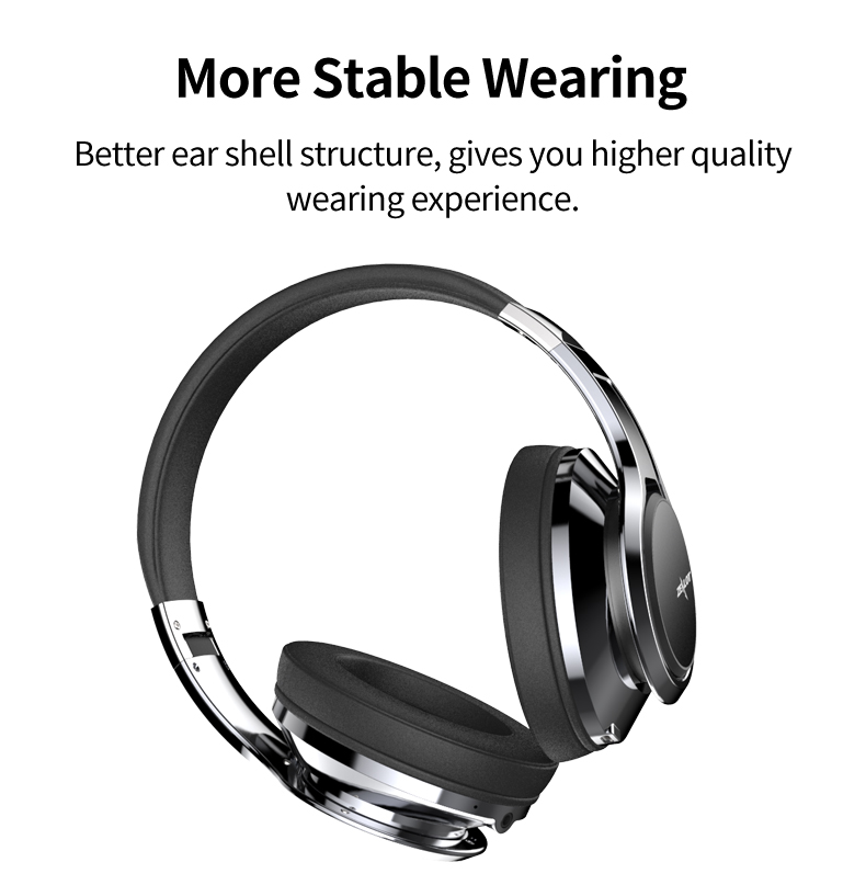 ZEALOT B22 Wireless bluetooth Headphone 3D Stereo Touch Control Foldable Aux-in Headset with HD Mic