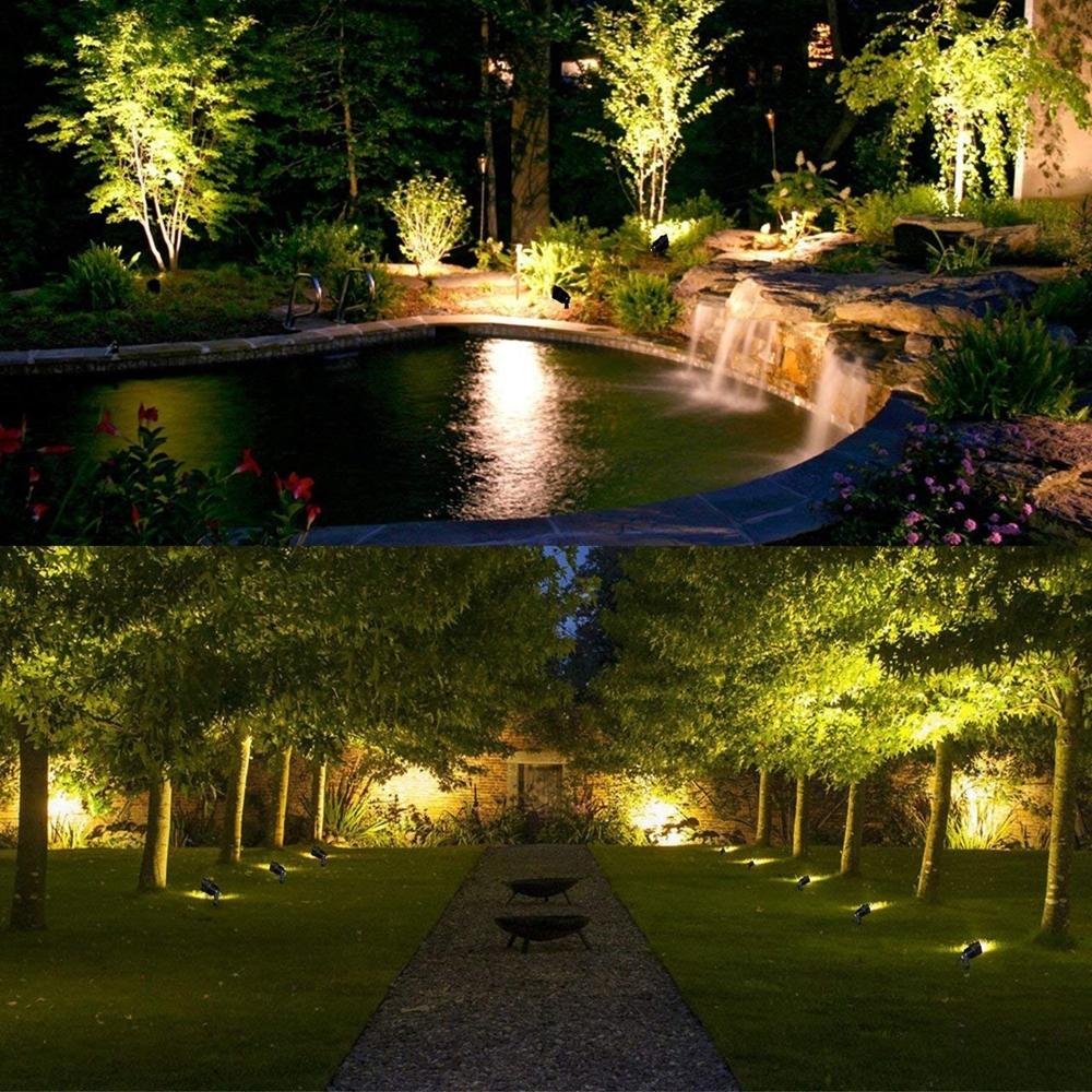10W RGB LED Flood Light Outdoor Garden Landscape Wall Yard Path Lawn Lamp