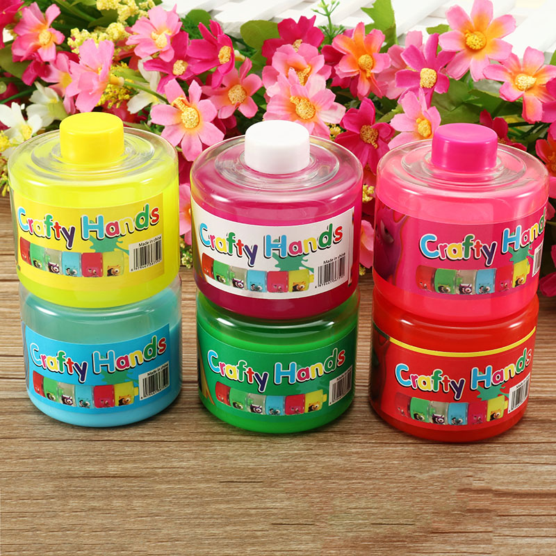 6CM Soft Slime Ink Bottle Stress Reliever Collection Christmas Decorations Gift Toy