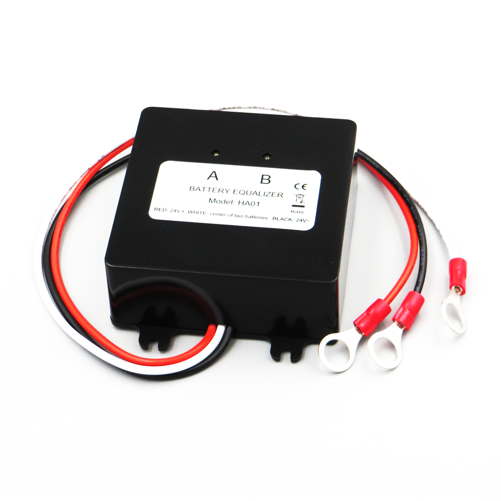 Battery Equalizer HA01 HA02 Batteries Voltage Balancer Lead Acid Battery Charger Regulators Connected In Series Solar Panel Cell
