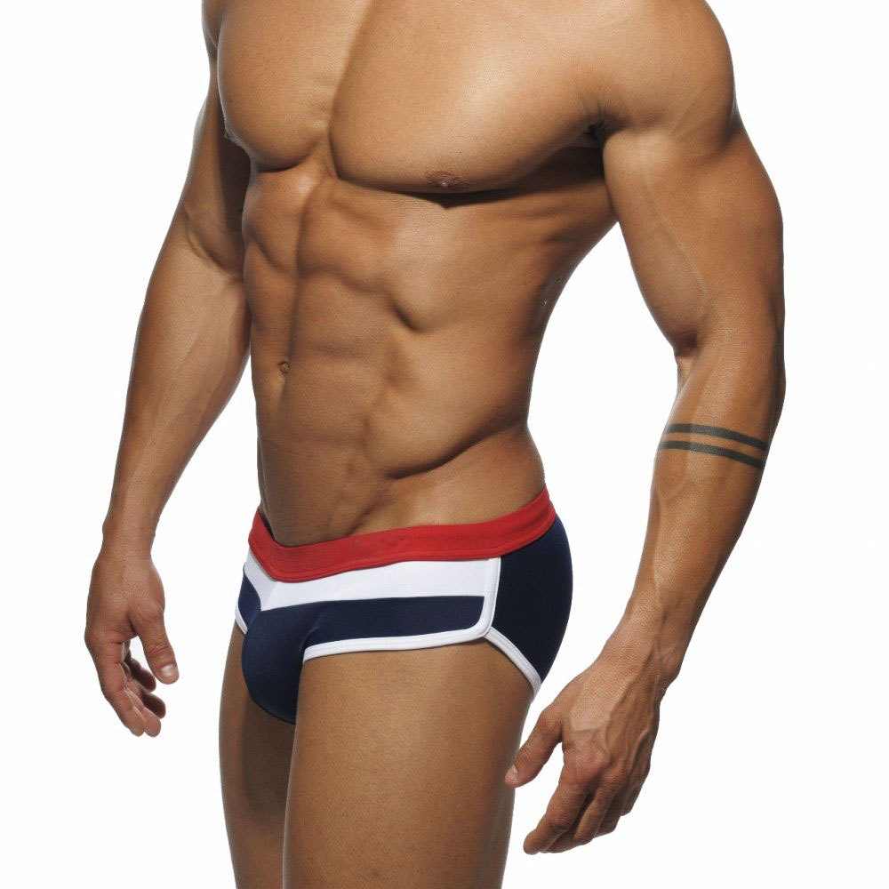 New Addicted Swimsuit Man Swimwear Trunks Swimming Briefs Short Sunga Boxer Beach