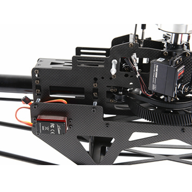XLPower Specter 700 XL700 FBL 6CH 3D Flying RC Helicopter Kit With Brushless Motor/Main Blade/ Tail Blade - Photo: 7
