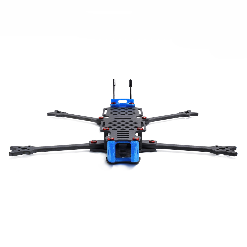 GEPRC GEP-LC7 315mm Wheelbase 6 / 7 Inch 5mm Arm Carbon Fiber Frame Kit 153g for RC Drone FPV Racing - Photo: 2