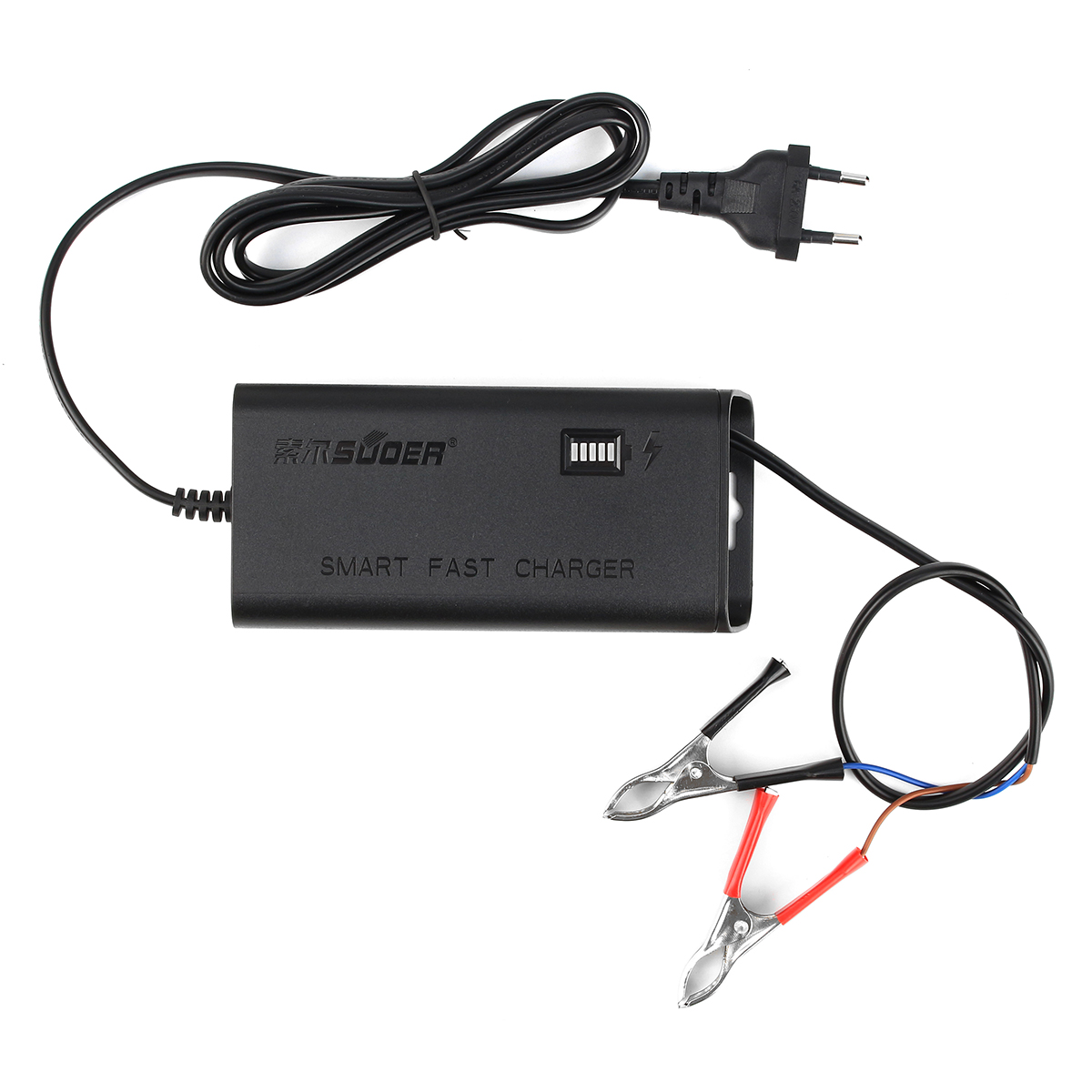 12V 5A Car Battery Charger Automatic Intelligent Pulse Repair Type LED Display