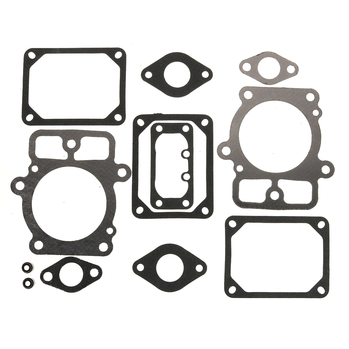 12 PCS Lawn Mower Valve Gasket Set For Briggs & Stratton 694013 Replaces# 499890