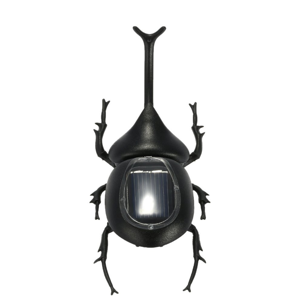 11.5cm Cute Solar Beetle Solar Powered Toy Beetle Children's Educational Toy