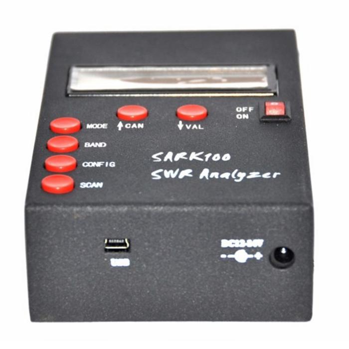 SARK100 1-60 Mhz ANT SWR Antenna Analyzer Meter Tester for Ham Radio Hobbists