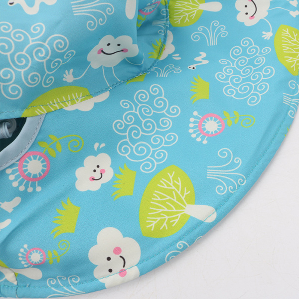 Children Mother Summer Quick Dry Family Cap Printing Double Sided Wide Brim Sunscreen Bucket Hat