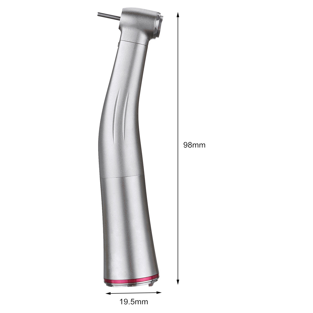 Dental 1: 5 Fiber Low Speed Optic Contra Angle Elbow Handpiece with Light Red Dental Tools