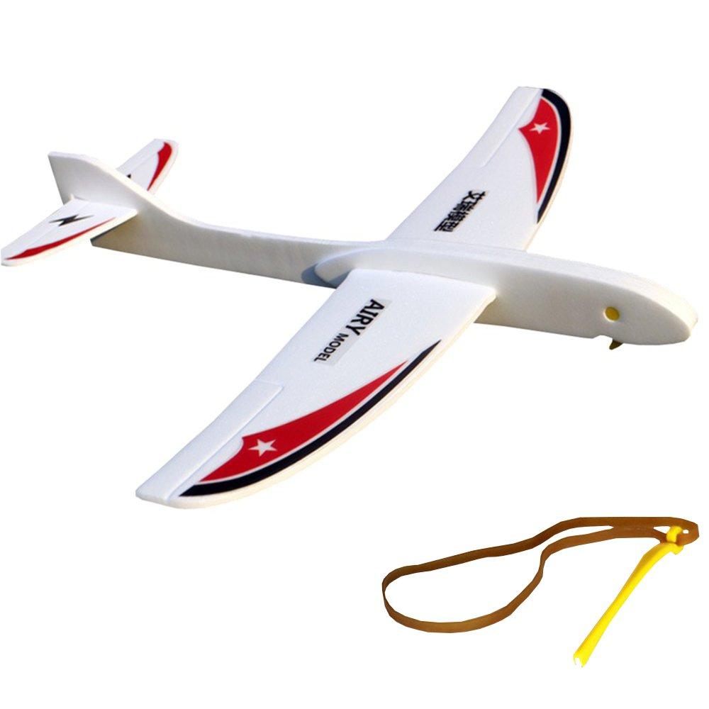 Image of AIRY Modell Swallow Eagle 290mm Spannweite PP Schaum Hand startete Gummi Band Ejection Flugzeug Glider