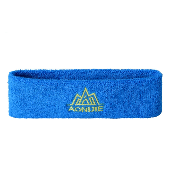 Outdooors Sport Headbrand High Elasticity Cotton Breathable Sweatband Sports Running Hair Head Band