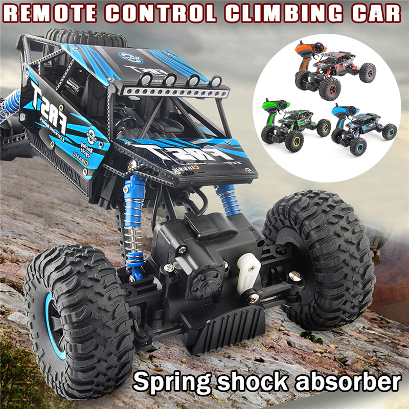 YL-06 2.4G 1/18 4WD Waterproof Rock Crawler RC Car Off Road Vehicle Remote Control Climbing Truck