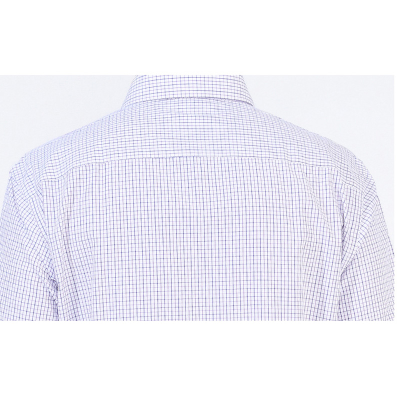 Summer Plaid Casual Business Button up Shirts for Men