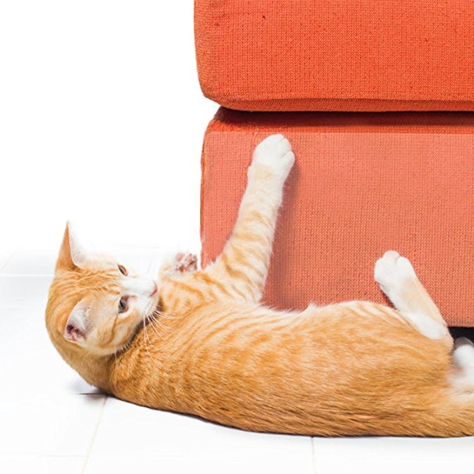 Honana Pack of 2 Cat Scratching Corner Guard No Pins Needed For Cat Scratching Furniture Couch