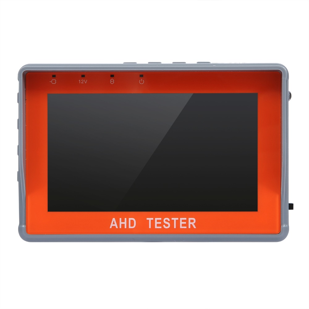 4.3 Inch HD AHD CCTV Tester Monitor AHD 1080P Camera Testing PTZ UTP Cable Tester 12V1A Output