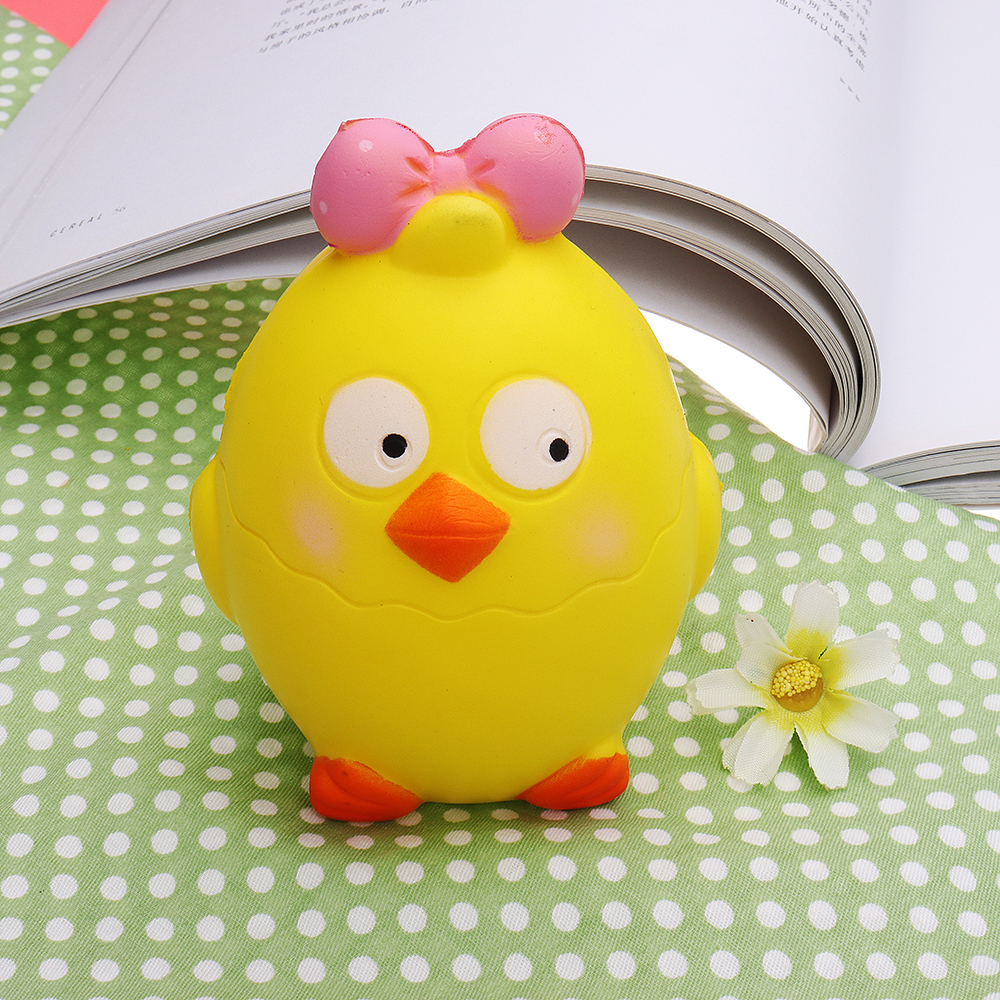 Animal Squishy Chick Slow Rising With Packaging Collection Gift Soft Toy