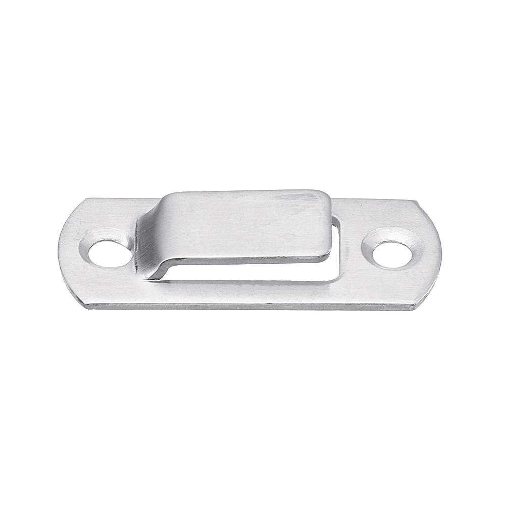 90 Degree Buckle Bolt Barn Door Lock Latch Hasp Sliding Door Buckle for Toilet Doors and Windows