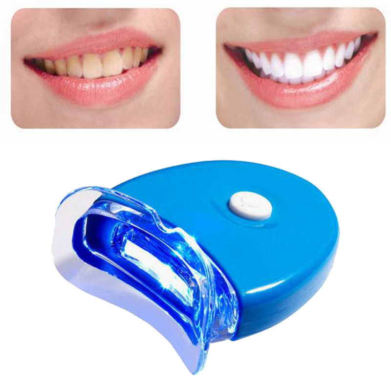 Mini LED Teeth Whitening Light Lamp Oral Care with 2 Batteries