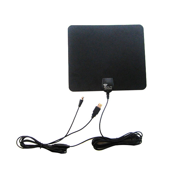 GF-HDTV006 Car Hd Digital TV Antenna DVB-T Outdooors Indoor Antenna Pad New Model For American Area TV