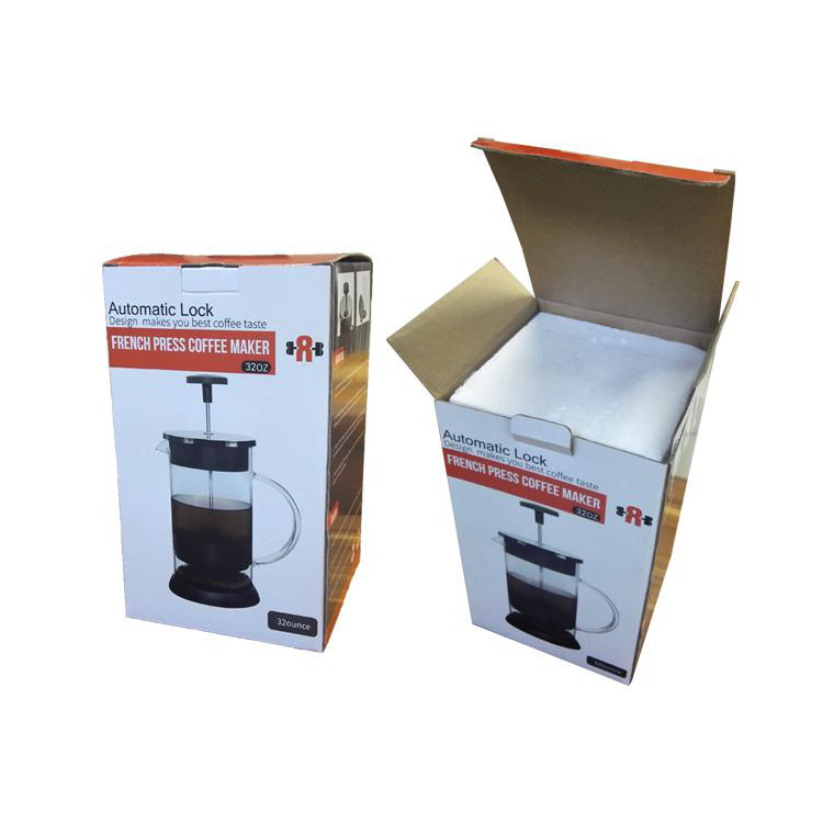 KCASA KC-COF10 Manual Coffee Machine Coffee Maker 1000mL French Press Coffee Tea Pot Brewer With Filter System